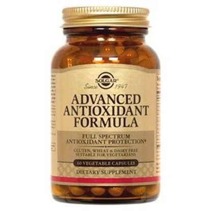Picture of Solgar Advanced Antioxidant Formula Vegetable Capsules