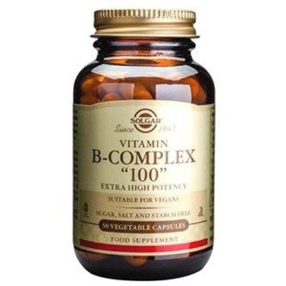 "Picture of Solgar Formula Vitamin B-Complex ""100"" Vegetable Capsules - 50"