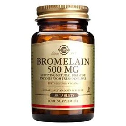 Picture of Solgar Bromelain 500 mg - 30 Tablets