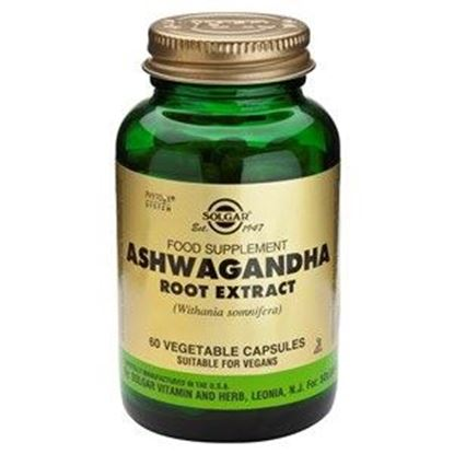 Picture of Solgar Ashwagandha Root Extract - 60 Vegetable Capsules