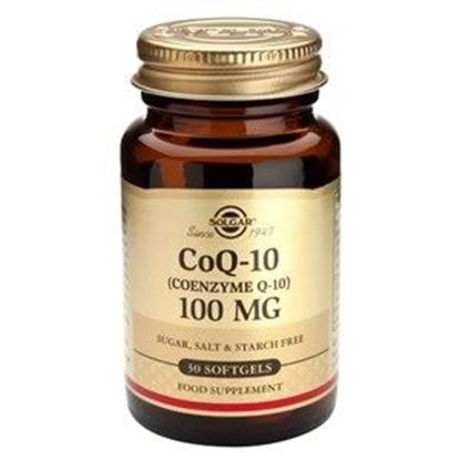 Picture of Solgar Coenzyme Q-10 100 mg - 30 Softgels
