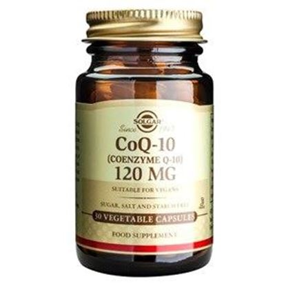 Picture of Solgar Coenzyme Q-10 120 mg - 30 Vegetable Capsules