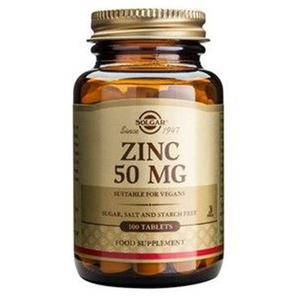 Picture of Solgar Zinc 50 mg Tablets