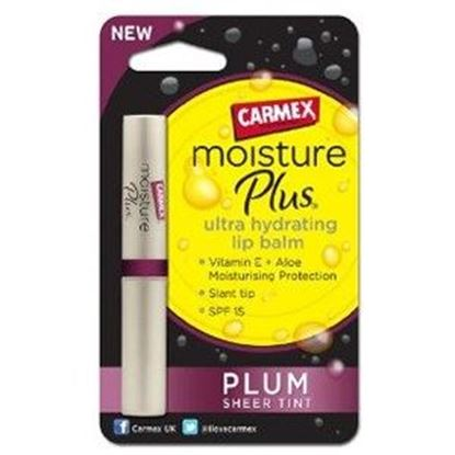 Picture of Carmex Moisture Plus Ultra-Hydrating Lip Balm - Plum Sheer Tint - 2g
