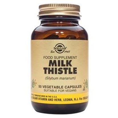 Picture of Solgar Milk Thistle Vegetable Capsules