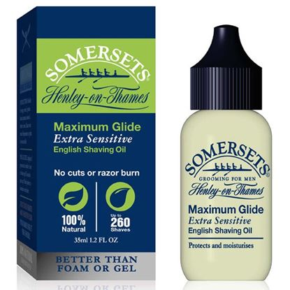 Picture of Somersets Extra Sensitive Shaving Oil 35ML