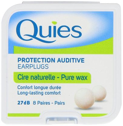 Picture of Quies Wax Earplugs - 8 Pairs