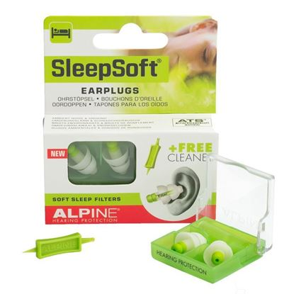 Picture of Alpine SleepSoft Earplugs 1 Pair
