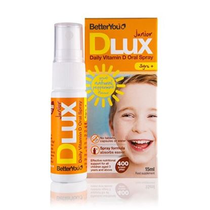 Picture of BetterYou Dlux Junior Vitamin D Oral Spray - 15ML
