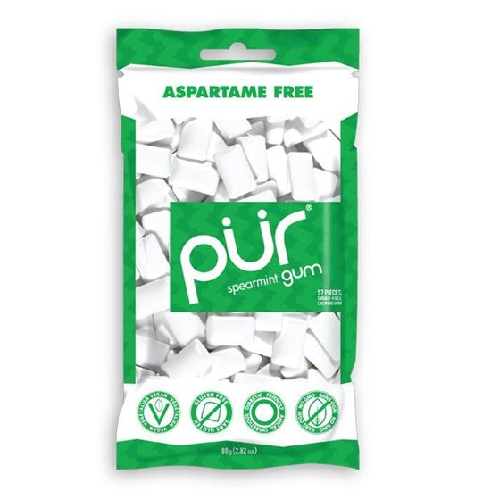 Picture of Pur Gum Bag Spearmint 80g