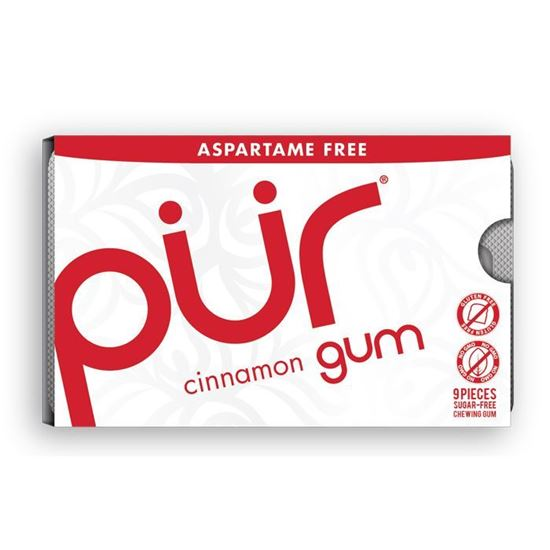 Picture of Pur Gum Blister Cinnamon - 9 pieces