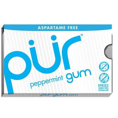 Picture of Pur Gum Blister Peppermint - 9 pieces