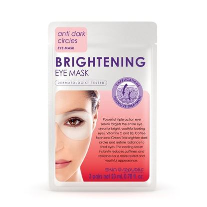 Picture of Skin Republic Brightening Eye Mask 3 pairs