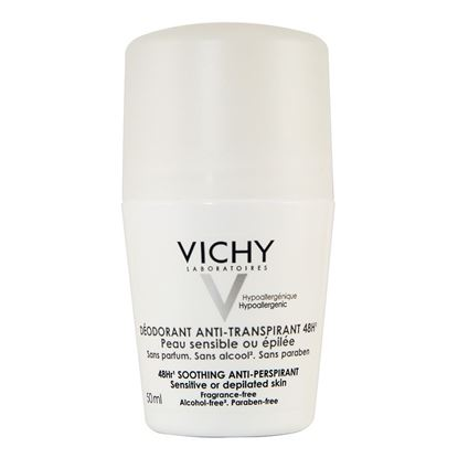 Picture of Vichy Antiperspirant Deodorant 48 Hour Roll-on Sensitive Skin