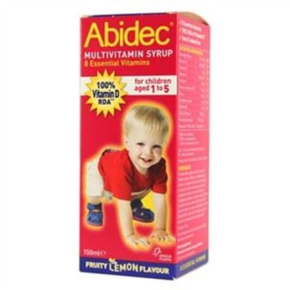 Picture of Abidec Multivitamin Syrup - 150ml
