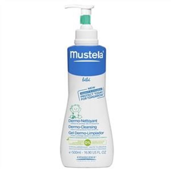 Picture of Mustela Bebe Gentle Cleansing Gel Hair and Body