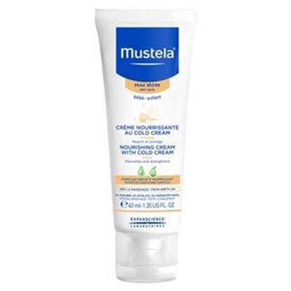 Picture of Mustela Bebe Nourishing Cream with Cold Cream