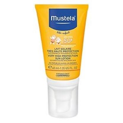 Picture of Mustela Bebe Very High Protection Sun Face Lotion SPF50+