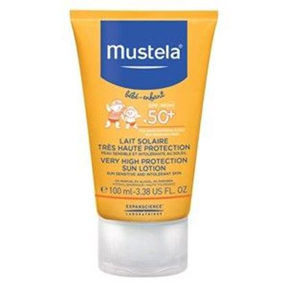 Picture of Mustela Bebe Very High Protection Sun Lotion SPF50+
