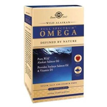 Picture of Solgar Wild Alaskan Full Spectrum Omega Softgels
