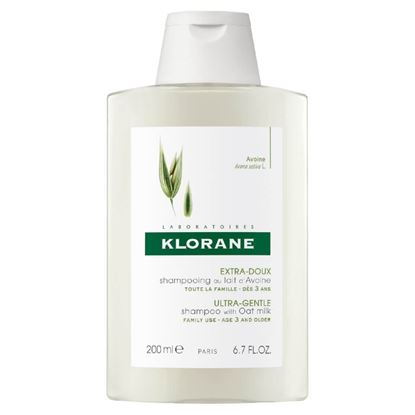 Picture of Klorane Ultra-Gentle Shampoo With Oatmilk - 200ml