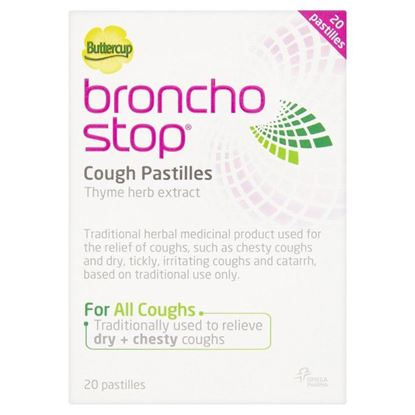 Picture of BronchoStop Cough Pastilles - 20 pastilles