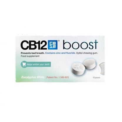 Picture of CB12 Boost Chewing Gum - Eucalyptus White