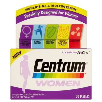 Picture of Centrum Women - 30 tablets