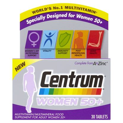 Picture of Centrum Women 50+ - 30 tablets
