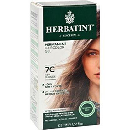 Picture of Herbatint Permanent Haircolour Gel - 7C Ash Blonde - 150ml