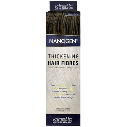 Picture of Nanogen Thickening Hair Fibres - Medium Brown - 2 Months' Supply