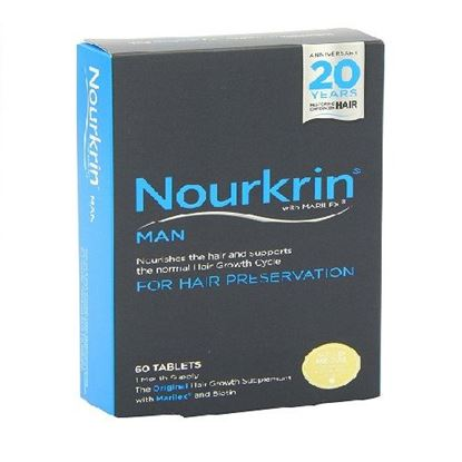 Picture of Nourkrin Man with Marilex - 60 tablets