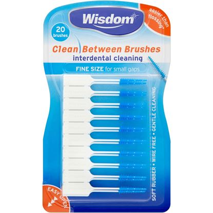 Picture of Wisdom Clean Between Brushes - Fine Size - 20