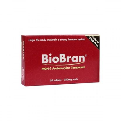 Picture of BioBran - 50 tablets